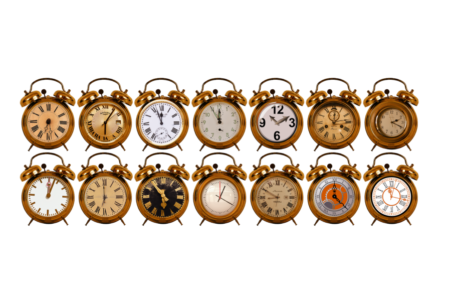 Syncrhonous time remains at home, but asynchronous time involves face to face interaction.