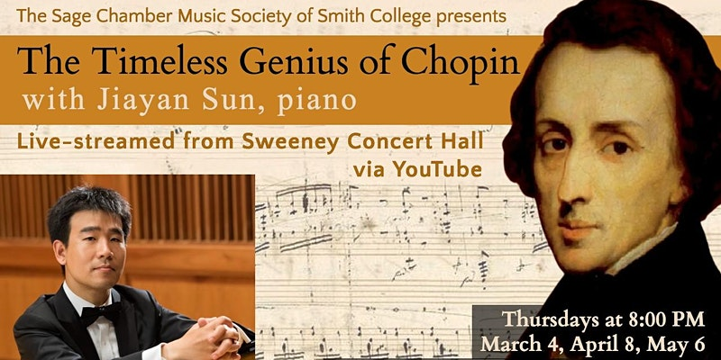 Live Streamed Performance: Timeless Genius Chopin - April 8