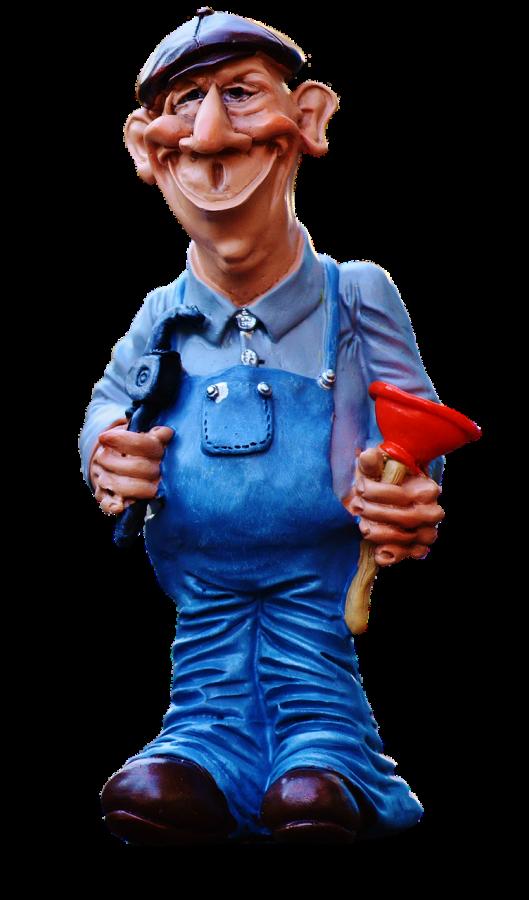 Always ask before you hug your plumber.