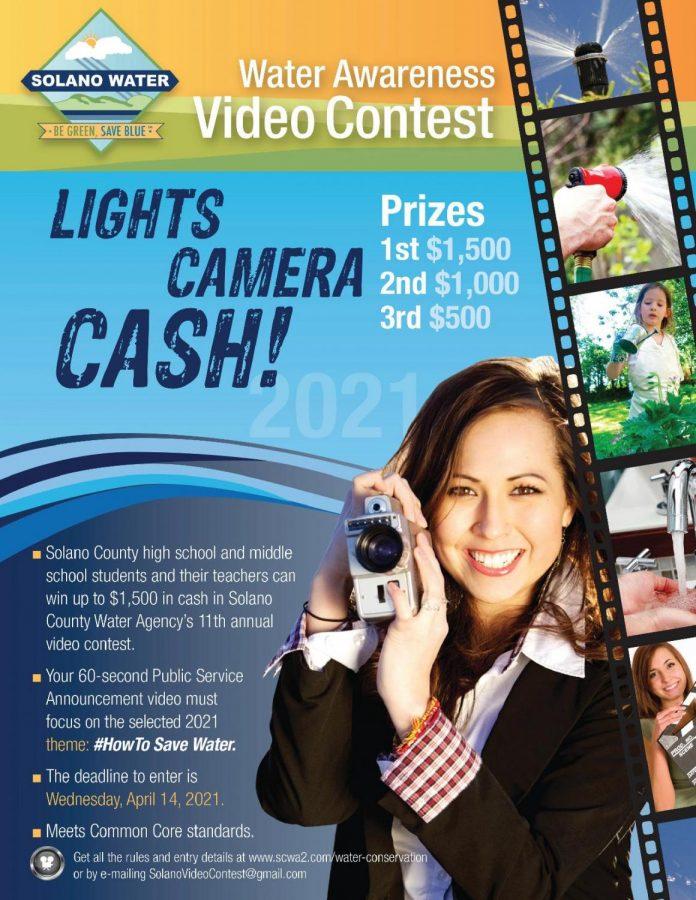 Student video contest - deadline April 14