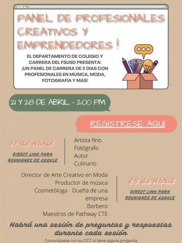 Panel de Primavera para Eventos Profesionales!