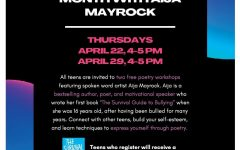 Aija Mayrock offers poetry workshop