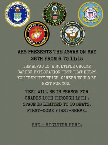 ASVAB test limited to 30 applicants