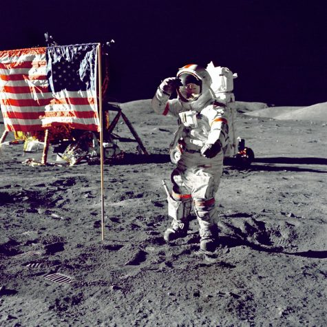 Eugene Cernan is only the eleventh person and the most recent person to walk on the Moon. It