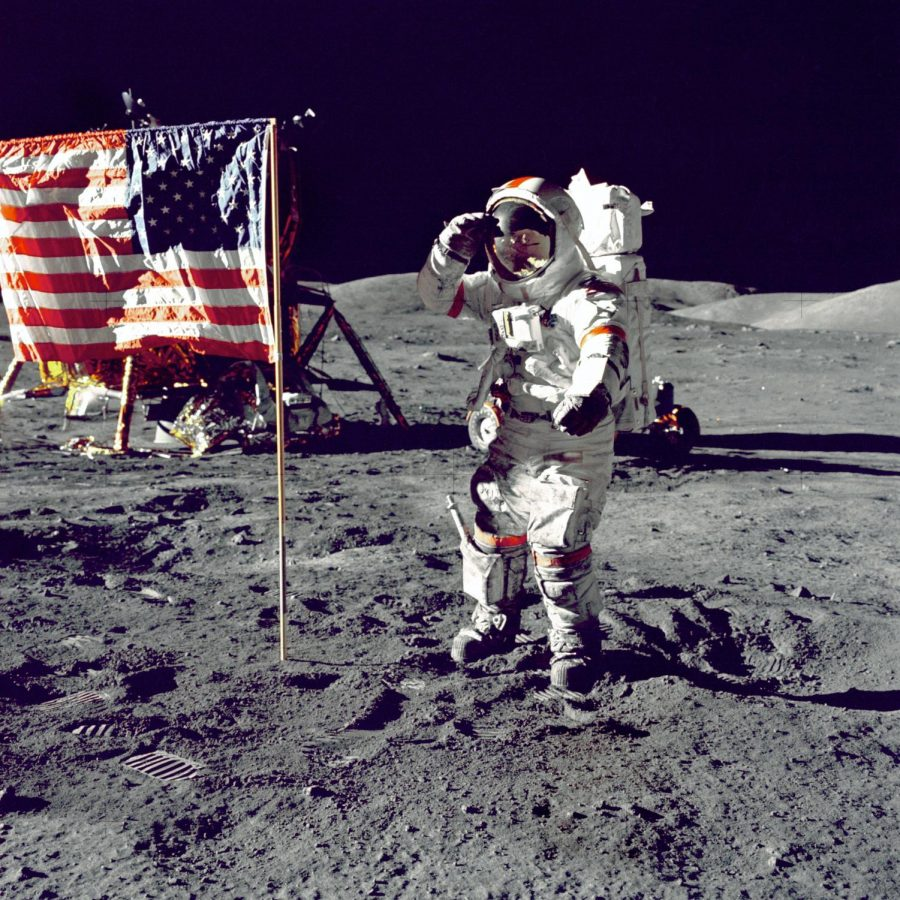 Eugene Cernan is only the eleventh person and the most recent person to walk on the Moon. It's crazy to think that there have not been any more trips since 1972.