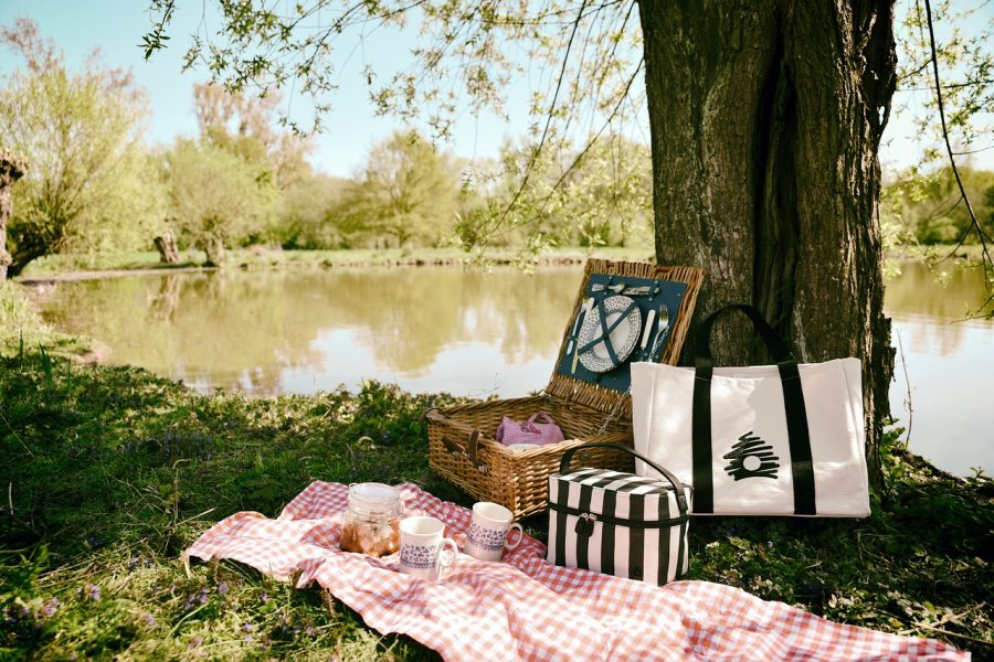 Friends or family, picnics can be fun for all.
