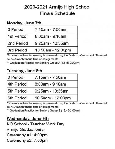 When and where to be on June 7 & 8