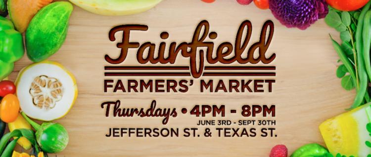Fairfield Farmers' Market - Thursdays July through September