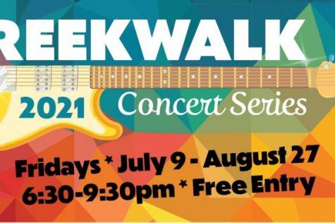 Vacaville CreekWalk Summer Concert Series - July Through August