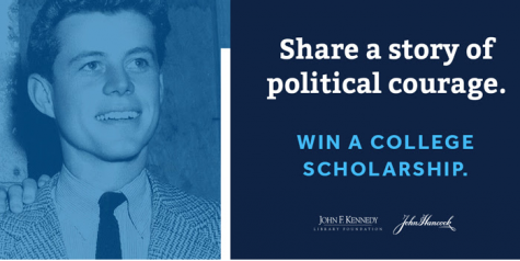 John F. Kennedy Profile in Courage Essay Contest opens September 1