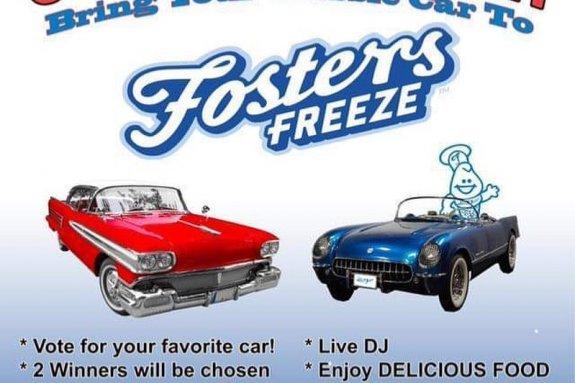 Fosters Freeze Cruise Night - July 26