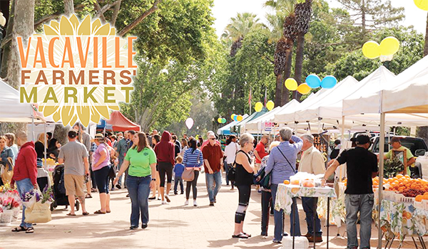 Vacaville Farmers Market - Saturdays July through October