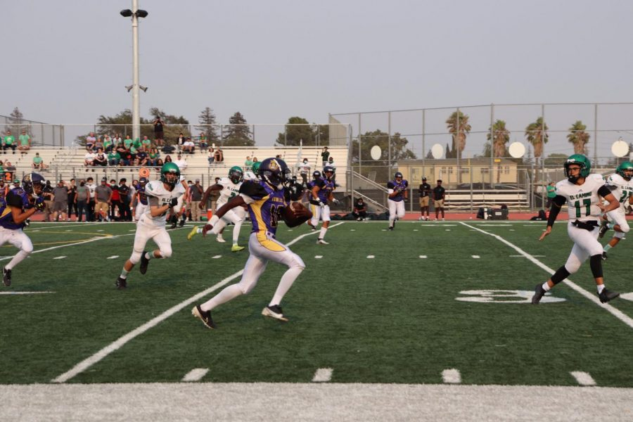 Armijo took to the field in nearly two years.