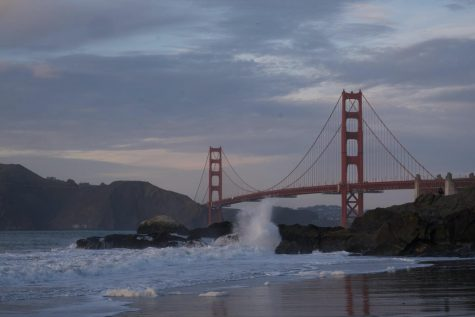 The views at Baker Beach are amazing.