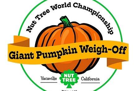 Vacaville Nut Tree: Great Pumpkin Weigh-Off - Oct.9