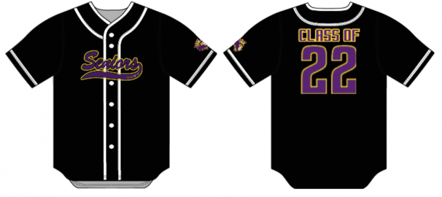 Four different choices are available for t-shirts, as well as this stunning jersey.