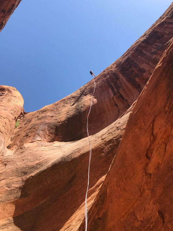 You might have heard of canoeing but canyoneering is a totally different type of activity.