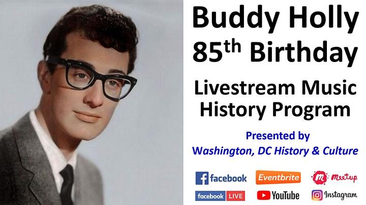 Buddy+Hollys+85th+Birthday+Livestream+Celebration+-+Sep+7