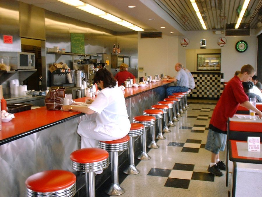 Benecia Grill II is a great place to go to if you like the old school diner look!