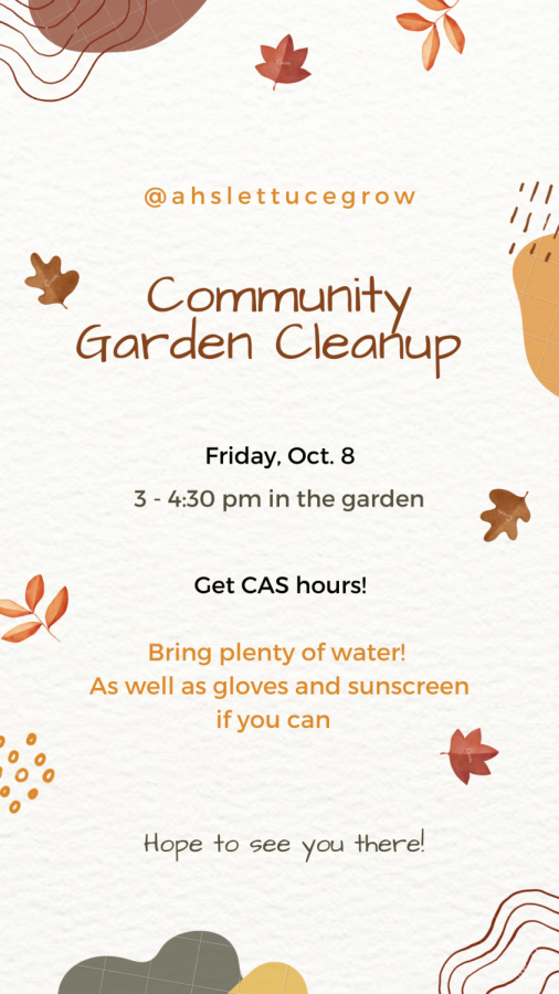 Join us in the garden this afternoon!