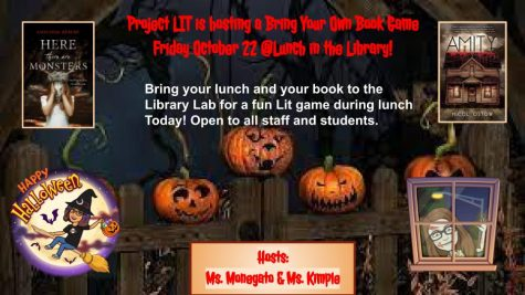 Scare up a little fun reading this Friday