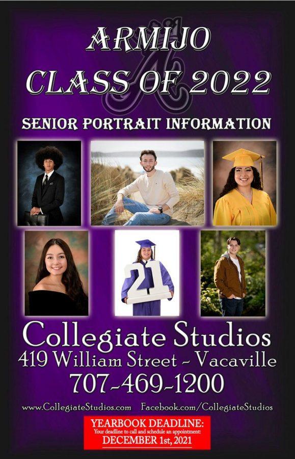 Deadline for Senior Portraits draws near