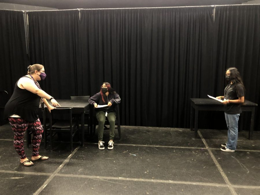 Sometimes, Theatre 1 Class is all fun and games.