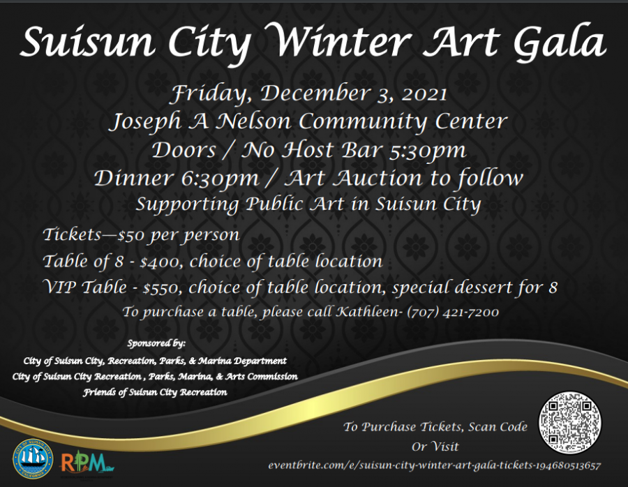 Calling all artists, young and old, Suisun City needs you!