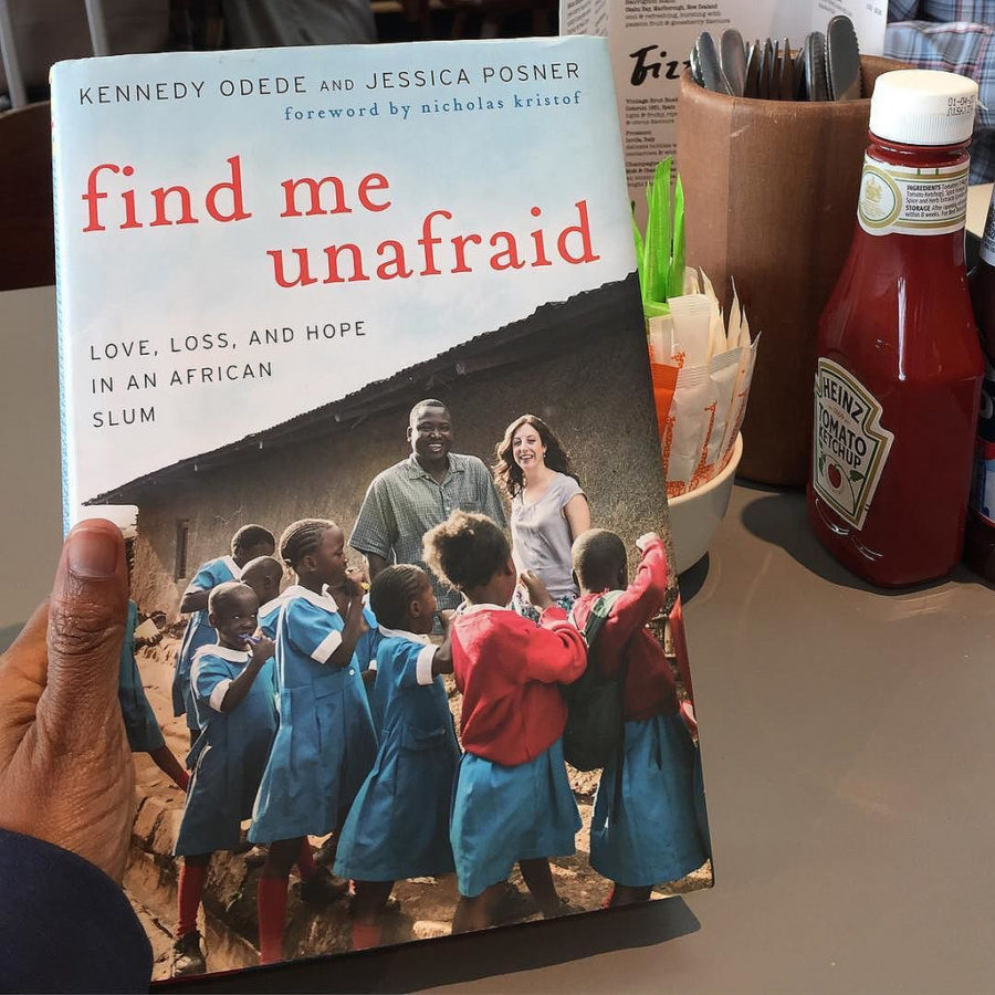 Find Me Unafraid Book