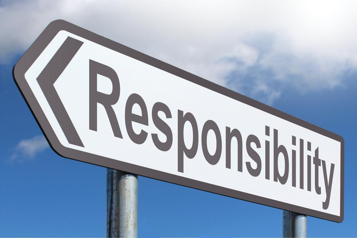 Encouraging Words: Taking Personal Responsibility – Part 2 ...