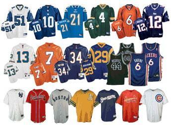 sports jerseys